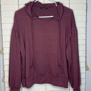 Fashion Nova Mauve light weight hoodie | Size M